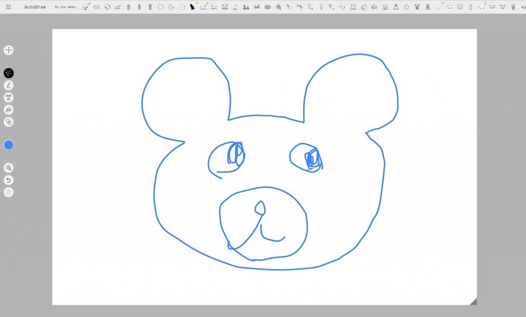 話題のAuto Drawで絵を描いてみて考察した